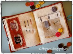 Needle book interior   It's all in the details blogged   Angela ...
