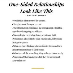 Healthy relationships 420312577722906863 - Someone needs to read this today♥️ from Nedra Tawwab – {It's not a healthy relationship when you're the only… Source by One Sided Relationship, Relationship Advice, Interpersonal Relationship, Mental And Emotional Health, Law Of Attraction Tips, Cognitive Behavioral Therapy, Inspirational Quotes For Women, Narcissistic Abuse, Coping Skills