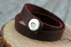 Lotus Bracelet Lotus Jewelry Handstamped by handmadebySFDesigns Lotus Jewelry, Jewelry Logo, Yoga Jewelry, Etsy Jewelry, Simple Bracelets, Minimalist Jewelry, Hand Stamped, Gifts For Her, Women Jewelry