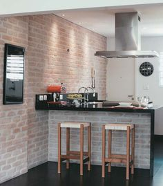 Oito exemplos de boa iluminação na cozinha