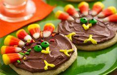 Turkey Cookies - Thanksgiving Food Ideas
