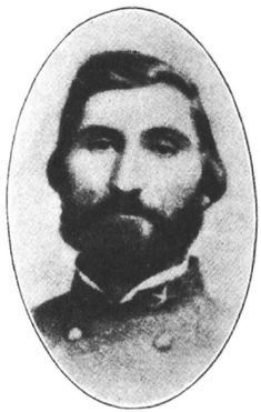 Samuel Benton (1820-64). Tennessee  Brigadier General (CSA). Mortally wounded at the Battle of Atlanta