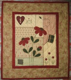 Red Button Quilt Co., located in beautiful Bemidji, Minnesota specializes in small quilts and traditional designs. Many of our quilts have those little extras like hand embroidery, buttons (we love buttons!), and wool appliqué. Crazy Quilt Blocks, Quilt Block Patterns, Crazy Quilting, Nancy Zieman, Small Quilt Projects, Quilting Projects, Quilting Ideas, Quilting Templates, Quilting Designs