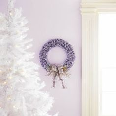 Craft Some Holiday Magic™ with this festive ribbon wreath.