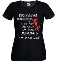 mushu mulan t shirt quotes dishonor dishonor your cow by kyokishop