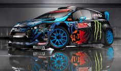 Ken Block reveals the new livery for his Global Rallycross and HFHV Fiesta.