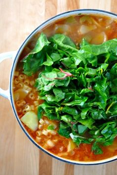 Winter Minestrone Soup