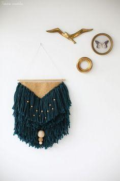 Tissage weaving by JesusSauvage | Pinterest: Natalia Escaño