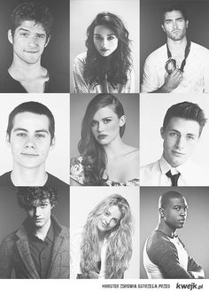 Teen Wolf mmm. Derek and Jackson! Scott and stiles too ha