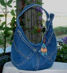 Denim Jeans Bags