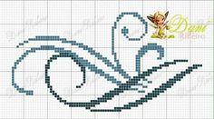 Filigree Cross Stitch Boarders, Butterfly Cross Stitch, Cross Stitch Alphabet, Cross Stitch Designs, Cross Stitching, Cross Stitch Patterns, Alphabet Stencils, Needlepoint, Needlework