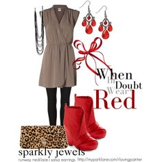 """""""red"""" by rachaelpainter on Polyvore"""