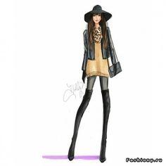 Holly Nichols - fashion-иллюстратор!