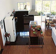 Um pouco de decoração...: Cozinha - Ilha/Balcão