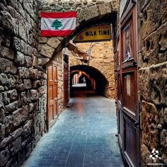 The beauty of the old souks architecture in #Saida By @ashraf_nas #WeAreLebanon  #Lebanon