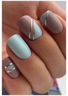 Square Nail Designs, French Nail Designs, Short Nail Designs, Beautiful Nail Designs, Acrylic Nail Designs, French Manicure Nails, Manicure E Pedicure, French Tip Nails, Gel Nails