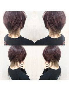 Mullet Hairstyle, Short Hair With Layers, Cute Korean Girl, Mullets, Short Girls, New Hair, Girl Hairstyles, Short Hair Styles, Hair Cuts