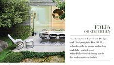 Essgarnituen von Lederleitner Outdoor Furniture Sets, Outdoor Decor, Patio, Design, Home Decor, Bistro Chairs, Sunroom Playroom, Lawn And Garden, Decoration Home
