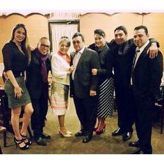 The Quintanilla family at Fiesta de la Flor 2015