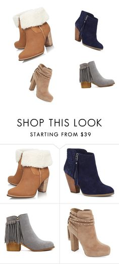 """craizy about shoes"" by tania-tina-armasu ❤ liked on Polyvore featuring moda, UGG Australia, Sole Society y Jessica Simpson"