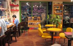 book cafe in korea