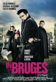 In Bruges: Great cinematography, acting; dark but somewhat interesting story line; lots of bloody gunshots, graphically depicted. Not a movie to watch when you want light entertainment.