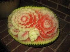 647-271-7971 Edible Flowers, Bouquets, Watermelon, Fruit, Food, Bouquet, Bouquet Of Flowers, Essen, Meals