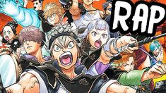 BLACK BULLS RAP CYPHER | RUSTAGE ft. DPS, NLJ, Ironmouse & More [Black C... Manga Anime, Manga Art, Anime Art, Black Clover Asta, Black Clover Anime, Tabata, Manhwa, Cover Wallpaper, Anime Group