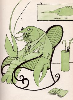 """""""The Clambake Mutiny"""", 1964, illustrations by Tomi Ungerer"""