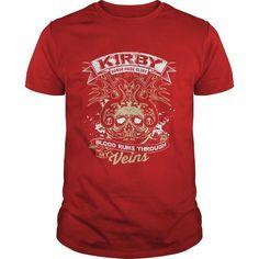 I Love KIRBY Blood Runs Through My Veins T-Shirts
