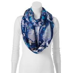 Apt.+9+Stained+Glass+Floral+Infinity+Scarf