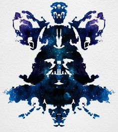 fyeahgraphicdesign:  What do you see inside this Star Wars inkblot? Created for the new Star Wars Identities, a traveling exhibit premiering at the Montreal Science Centre on April 19, 2012, this inkblot is accompanied by a pretty sweet video. The character driven, interactive museum exhibition promises to take Star Wars to a whole new level with costumes, models and artwork from the films (via Star Wars Inkblot Has Hidden References - My Modern Metropolis)