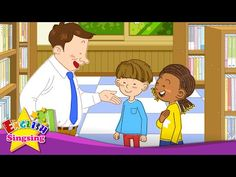 Nice to meet you. - I'm great. (Easy Dialogue) - English video for Kids - English Sing sing - YouTube