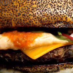 BEST BURGER IN THE WORLD. SERIOUSLY. w/ @bigvlondon 👁💚👁 Full recipe on FB 👁💚👁 Preorder your #BOSHBOOK now! (Link in bio) 👁💚👁 #vegan #veganburger #bosh #boshtv