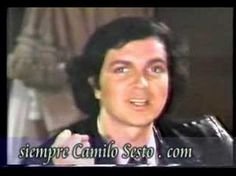 Camilo Sesto -  Saludo a la juventud I Love You, My Love, Youtube, Music, Poet, Youth, Affirmations, Songs, News