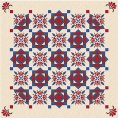 Quilting Affection : 2016 Block of the Month - Coming Soon