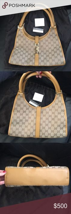 4bf4d26e8 Gucci Jackie O handbag Like new Gucci Jackie O handbag. Comes with dustbag.  Leather is in prime condition. No stains. I don't use it, so I may as well  sell ...