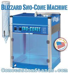snow cone machine rental tulsa
