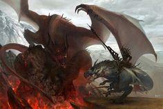 Dragon vs caza dragones