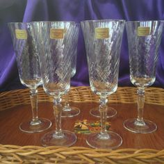498e856998bf 104 Awesome Vintage Crystal Champagne