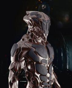 cyberpunk, cyborg, future, armor, futuristic, military, sci-fi: Mech, Cyborg, Cristiano Rinaldi, Concept Art, Scifi, Sci Fi