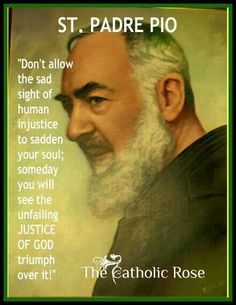 """Padre Pio - """"The Devil is like a mad dog. Catholic Religion, Catholic Quotes, Catholic Prayers, Catholic Saints, Religious Quotes, Roman Catholic, Great Quotes, Inspirational Quotes, Motivational"""