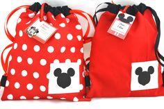 Inspirado na  Minnie e no Mickey