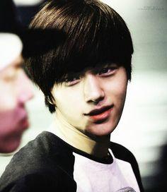 So cute MyungSoo L ^^**