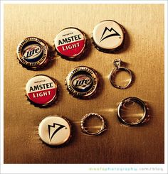 Ha! Totally looks like something I would do, replace the miller and amstel and its perfect!