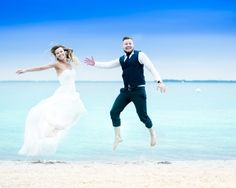 After Wedding Fotoshootings am Strand auf Mallorca