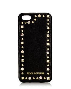 Juicy Couture | Leather & Stud iPhone 5 Case