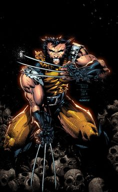 X-men Files - Burn Book - Wolverine is a fictional character who appears in American comics published by Marvel Comics, mainl - Hq Marvel, Marvel Comics Art, Marvel Comic Books, Marvel Characters, Marvel Heroes, Comic Art, Comic Kunst, Comic Books Art, Wolverine Art