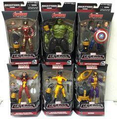 Marvel Legends Infinite Avengers BAF Thanos Wave Set Full Case Of 8