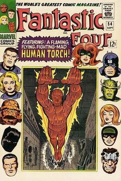 FANTASTIC FOUR #54  MARVEL COMICS GROUP  SEPTEMBER 1966  $.12